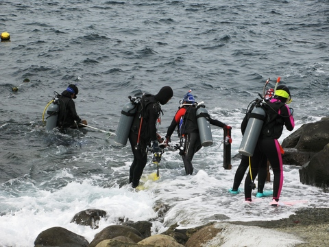 初島ダイビングセンター エントリーポイントのサムネール画像