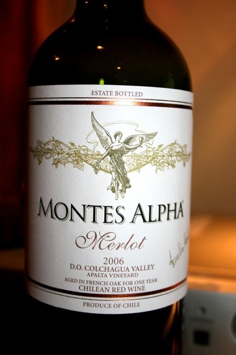MONTES ALPHA MERLOT 2006