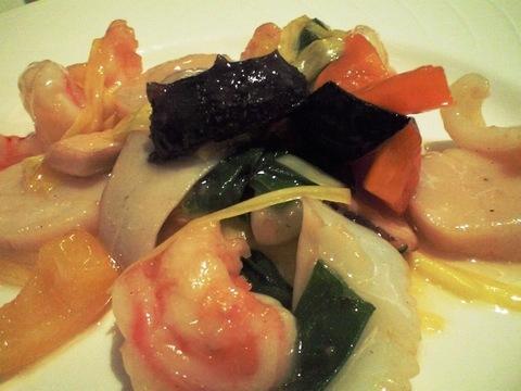 海鮮の炒め物