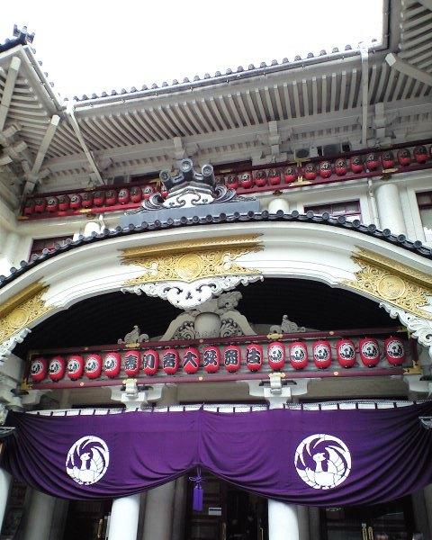 取り壊しが決まった歌舞伎座
