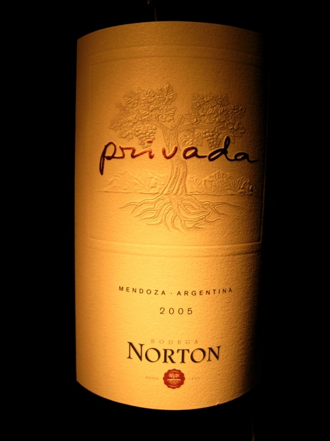 BODEGA NORTON PRIVADA 2005