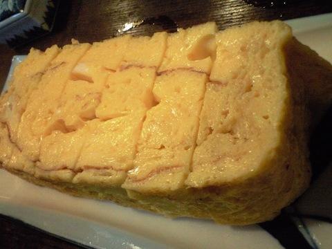 沼津の名店 寿司処 若駒 の卵焼き