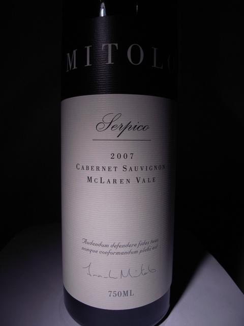 MITRO Serpico Cabernet Sauvignon 2007