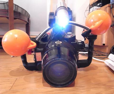 SEA&SEA DX-400D Canon Digital X用水中ハウジング