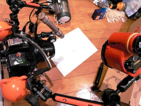 SEA&SEA DX-400D Canon Digital X用水中ハウジング + シーアーム