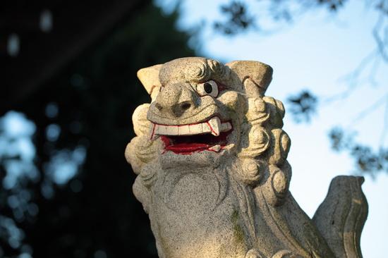 大瀬神社の狛犬