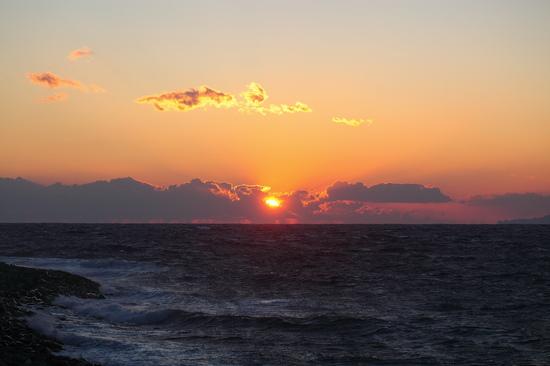 大瀬崎の夕陽