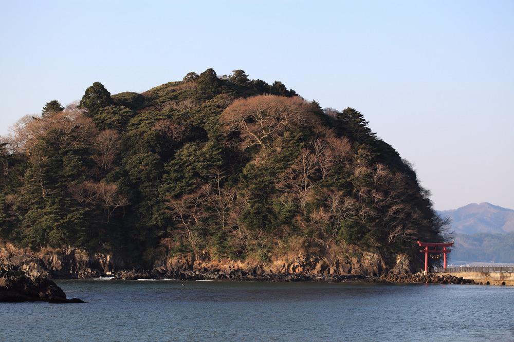 南三陸町志津川 荒島神社