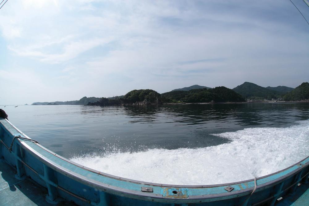 志津川湾(宮城県南三陸町)