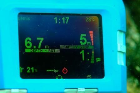 UEMIS SDA ダイビングコンピュータ 有機EL使用