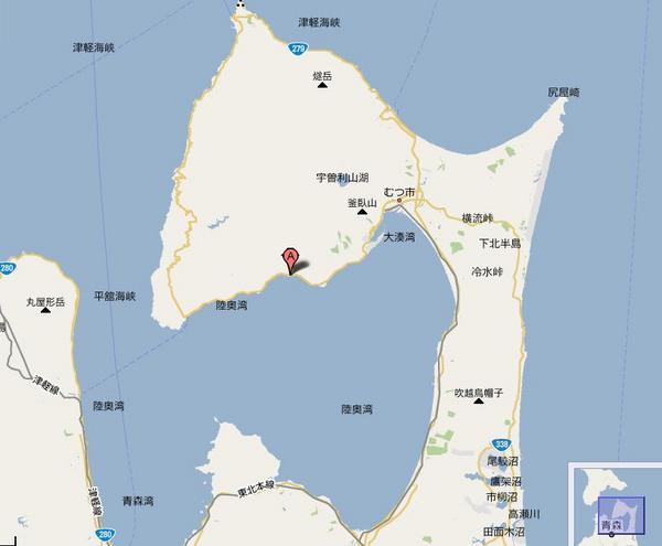 青森県陸奥湾