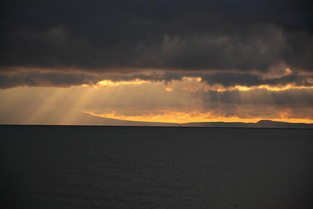 北方領土 国後島の朝