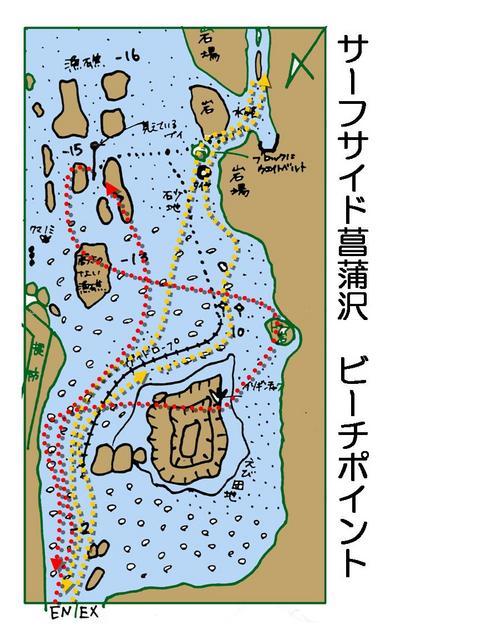 サーフサイド菖蒲沢ビーチポイント